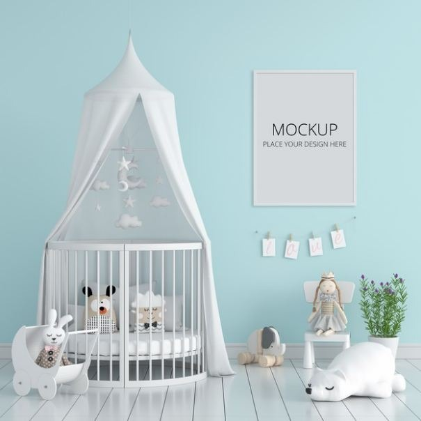 Picture of a toddler's room.